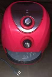 Fritadeira Elétrica Air Fryer Philco Saúde Inox PH 3,2 LitrosVermelha - 127V