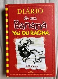 Livro ''Vai ou Racha'' Diário de um Banana