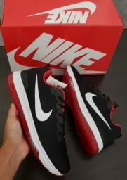 Nike zoom preto/vermelho