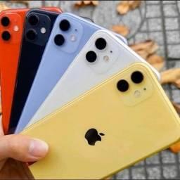 Título do anúncio: IPhone 11 64Gb ( Novo, Lacrado, Garantia ) temos 128Gb Também, Toda Linha Apple