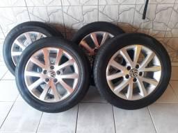 vendo jogo de rodas com pneus aro 16