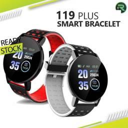 Smart Watch / Monitor De Fitness / Frequência Cardíaca / Pressão Sanguínea