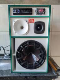 Caixa de som BoB Residencial 1200 Watts