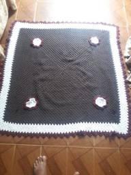 Tapete em crocher