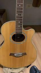 Vendo violão extremamente novo/ valor negociável