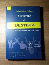 """Livro - Apostila do Dentista """"seja aprovado sem sair de casa"""" - Juliano Abreu Pacheco"""