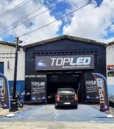 TopLed Iluminação Automotiva aqui na Rua Espirito Santo 1434