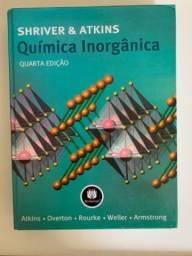 Química Inorgânica Shriver e Atkins 4a edição usado