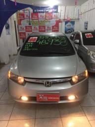 Honda Civic Automático 60x 584,00 + Entrada