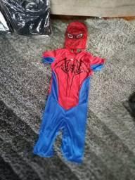 Fantasia homem aranha para meninos