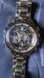Relógio Skeleton Winner ação por movimento