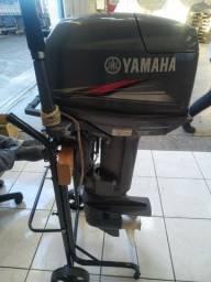 Motor Yamaha 25 Hp 2017 impecável