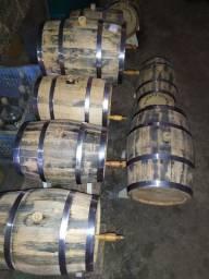 Barril de carvalho 5 e 10 litros