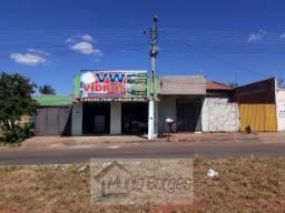 2 Casas Lote de 360m e ponto de comércio à venda por R$ 229,000 - Residencial Triunfo I