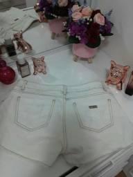 Shortz Jeans Off White Polo Wear