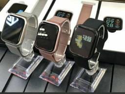 Mega Promoção - Smartwatch p70 pro Novo Lacrado com 1 Ano de Garantia + Brindes