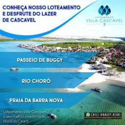 Villa Cascavel 2 no Ceará Lotes 7km da praia (