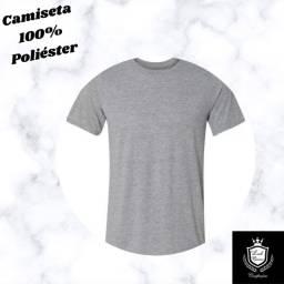 Camisetas 100% poliéster