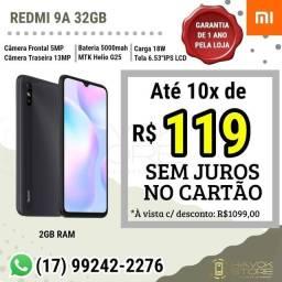 REDMI 9A (32GB ROM) PRONTA ENTREGA NF GARANTIA