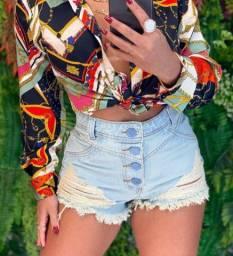Shortinhos jeans novo