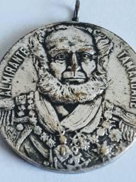 Medalha de bronze banhada a prata almirante Tamandaré semana da marinha