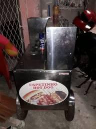 Carrinho Espetinho Hot Dog 1.500