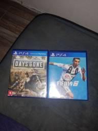 ? jogos de ps4 ? Days Gone ? FIFA 19