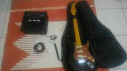 Guitarra + Amplificador + Case