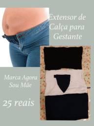 Extensor de calça para gestante
