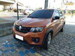 Renault Kwid Zen 1.0, 2019/2020, Laranja, Completo, 27.000km