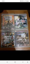 Jogos PS3 (8 jogos por R$200)