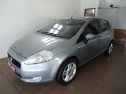 Fiat punto elx 1.4 flex 4p ano 2008 cinza