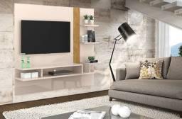 Painel Cross Lukaliam Ideal Para TVs até 55 Polegadas com divisória em vidro;