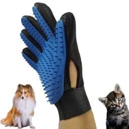 Luva para Tirar pelos de cachorro e gato
