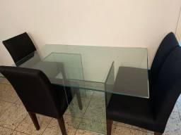 Mesa jantar + 4 cadeiras