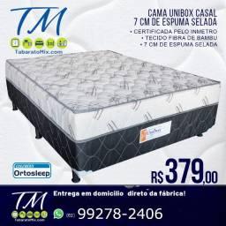 Mega Promocional! cama de casal 7cm conjugada apenas R$379!