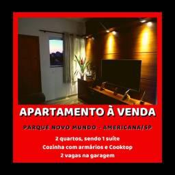 Apartamento Top - Parque Novo Mundo - Americana - SP