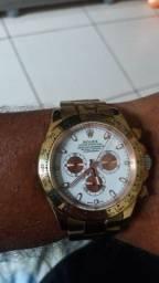 Rolex dourado automático!