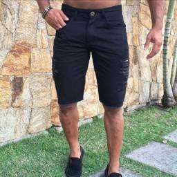 Promoção 2 Bermuda Jeans Skinny