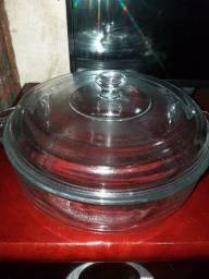 Panela de vidro 9.9x3in - 3.2 Qt