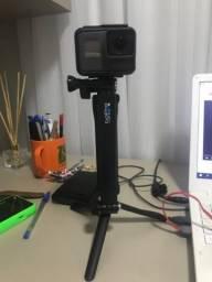 GoPro Hero Black 5 + Tripé 3 em 1 Oficial