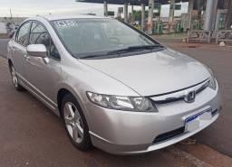 Honda Civic LXS. 2008. Flex Km 116.000 . Financia. Parcela