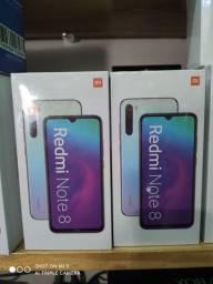 Xiaomi Redmi Note 8 BRANCO 4 RAM 64GB NOVOS LACRADOS GLOBAIS COM GARANTIA DE 1 ANO
