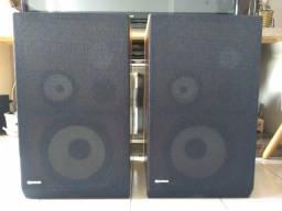 Caixas Acústicas Gradiente para Receiver e Amplificador Vintage Som Antigo