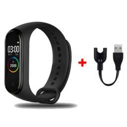 Relógio Inteligente Smartband M4 Monitor Cardíaco E Pressão