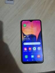 Samsung a10 defeito tela