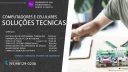 Formação de PC e manutenção de celulares