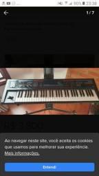 Teclado Sintetizador Roland Juno Di Pendrive Playbacks<br><br>