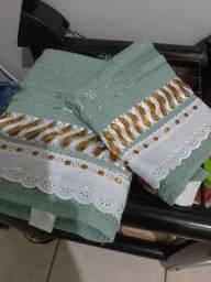 Faço toalha de fitilho