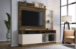 "Home Leblon MDF TV 60"" NOVO"